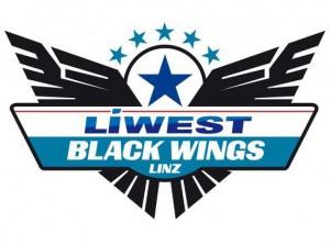 Das neue Logo der Black Wings Linz