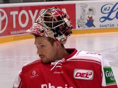 Torwart Dany Aus den Birken- © by Eishockey-Magazin