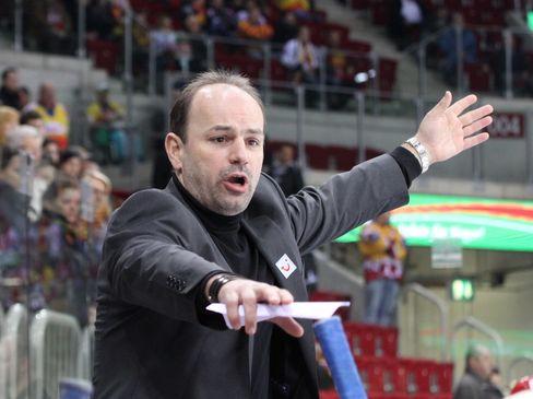 SCR Trainer Toni Krinner  - © by Eishockey-Magazin (DR)