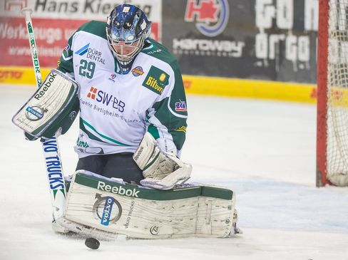 Bietigheims Keeper Jochen Vollmer   - © by Eishockey-Magazin (SP)