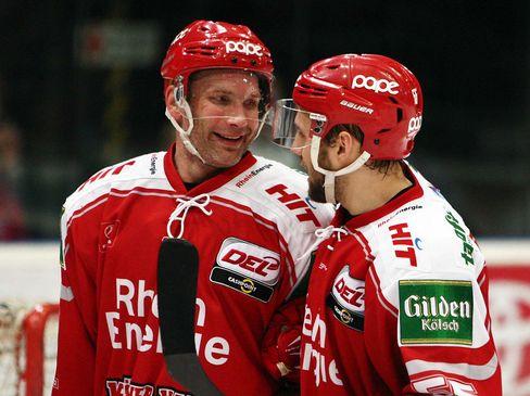 Mirko Lüdemann (links) und Felix Schütz im Smalltalk - © by ISPFD (sportfotocenter.de)