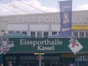Die Kassler Eissporthalle, Heimspielstätte der Huskies - © by Eishockey-Magazin (MK)