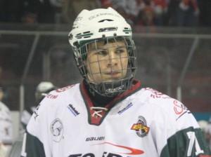 Neu beim EHC: Der Rosenheimer Max Meirandres - © by Eishockey-Magazin (SR)