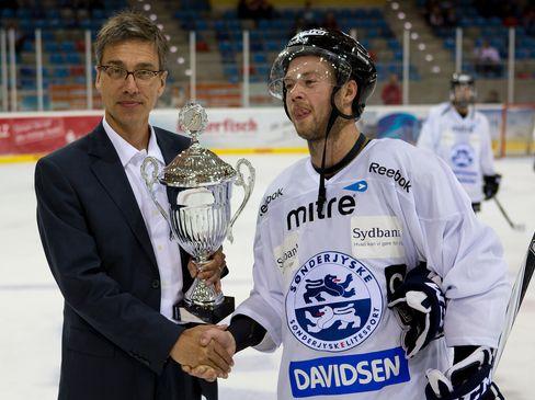Der dänische Vertreter SonderjyskE gewann im vergangenen Jahr den Cup - © by Eishockey-Magazin (SP)