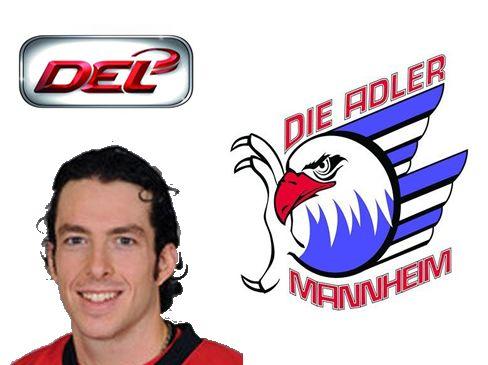 Jon Rheault kommt aus der AHL zu den Adlern Mannheim - © by Media / EM