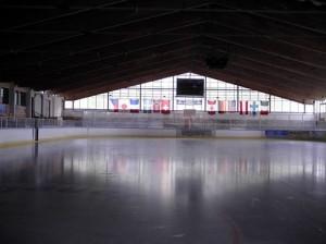 Blick in die Sherwood-Arena  - © by Eishockey-Magazin (MK)