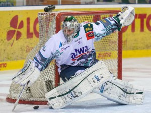 Top-Goalie Frederic Cloutier - © by Eishockey-Magazin (SP)