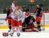 Andreas Morczinietz bejubelt seinen Treffer – © by Eishockey-Magazin (DR)