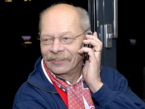 Volker Boix, Urstimme der Brehmstraße, sagt heute Servus - © by Eishockey-Magazin (DR)