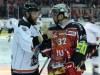 Stephan Kreuzmann (Frankfurt, links) und Mathias Forster - © by Eishockey-Magazin (SR)