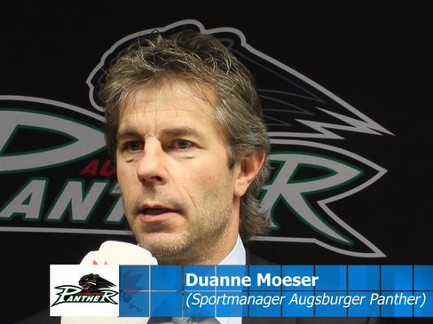 Panther-Sportmanager Duanne Moeser - © by Eishockey-Magazin (MS)