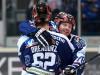 Torjubel bei Dieter Orendorz und Gratulant Mike York - © by Eishockey-Magazin (JB)