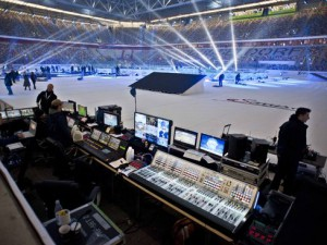 DEL Wintergame Servus TV Regie - © by Servus TV