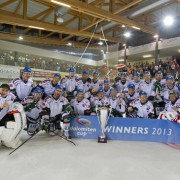 Schweizer Topteam EV Zug spielt 12. Dolomitencup