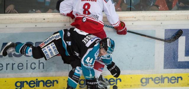 Blick in die EBEL: Der HC Znojmo und die Black Wings aus Linz freuen sich auf das Semifinale