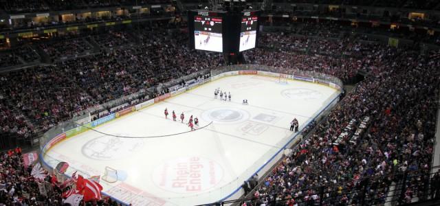 LanxessArena wird zum Mekka des Eishockeysports