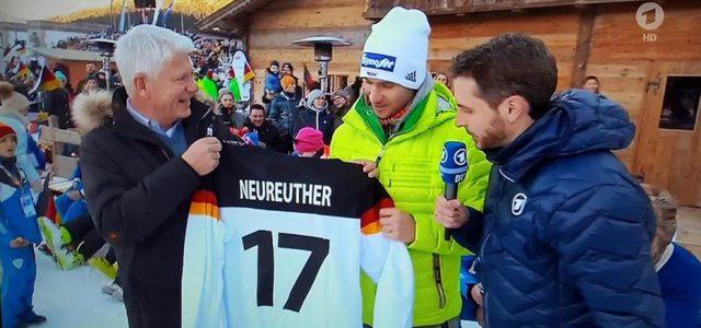 Ski-As Felix Neureuther ist erster offizieller Botschafter der 2017 IIHF Eishockey-Weltmeisterschaft