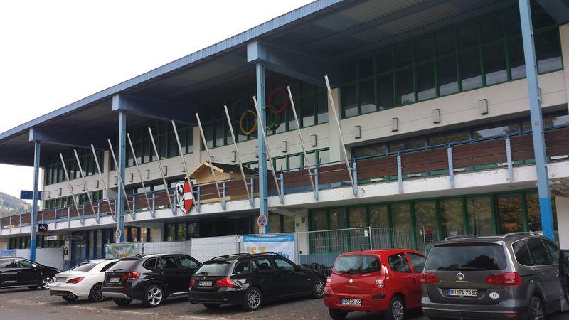 Olympia Eissport Zentrum in Garmisch-Partenkirchen - Heimspielstätte des SC Riessersee - © by Eh.-Mag. (MK)