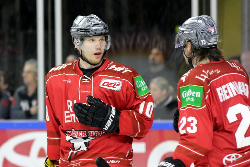 Christian Ehrhoff, Max Reinhart (KEC) - © by Eh.-Mag. (DR)