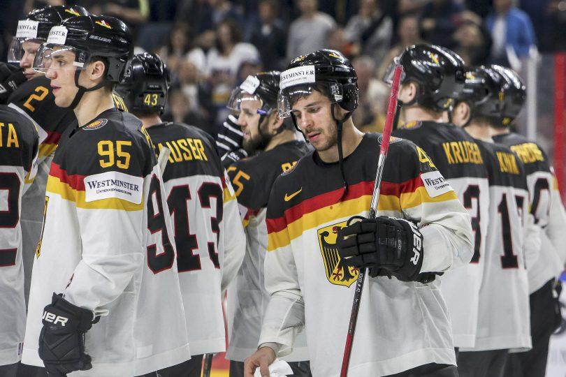 Enttaueschte Gesichter bei den deutschen Spielern, wie hier bei Yasin Ehliz  Foto: ISPFD