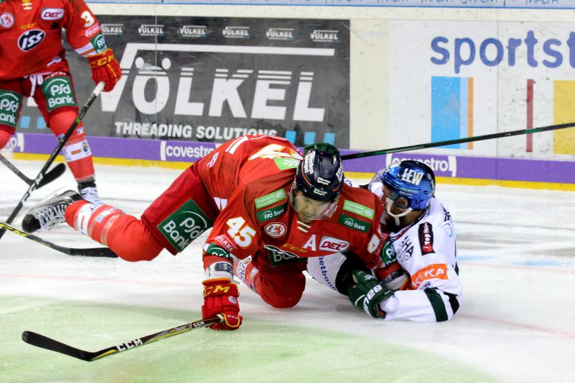 Alexandre Picard (DEG) - Thomas Holzmann (AEV) © by Sportstimme.de (DR)