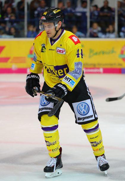 Nick St. Pierre DEL: Iserlohn Rooster vs. Krefeld Pinguine Copyright: Jan Brueggemann, Eishockey Magazin