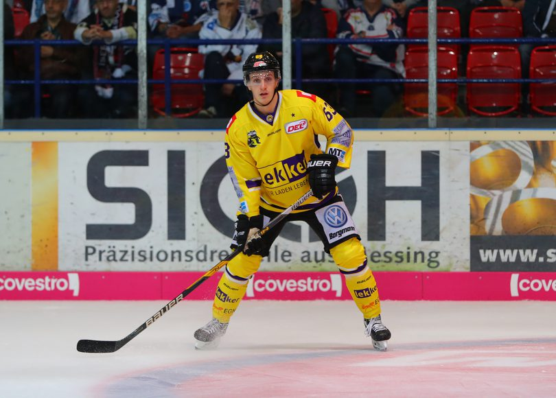 Maximilian Faber DEL: Iserlohn Rooster vs. Krefeld Pinguine Copyright: Jan Brueggemann, Eishockey Magazin