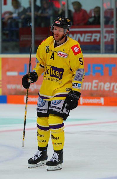 Marcel Müller DEL: Iserlohn Rooster vs. Krefeld Pinguine Copyright: Jan Brueggemann, Eishockey Magazin