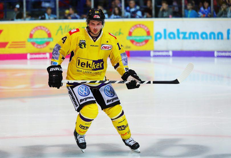 Justin Feser DEL: Iserlohn Rooster vs. Krefeld Pinguine Copyright: Jan Brueggemann, Eishockey Magazin