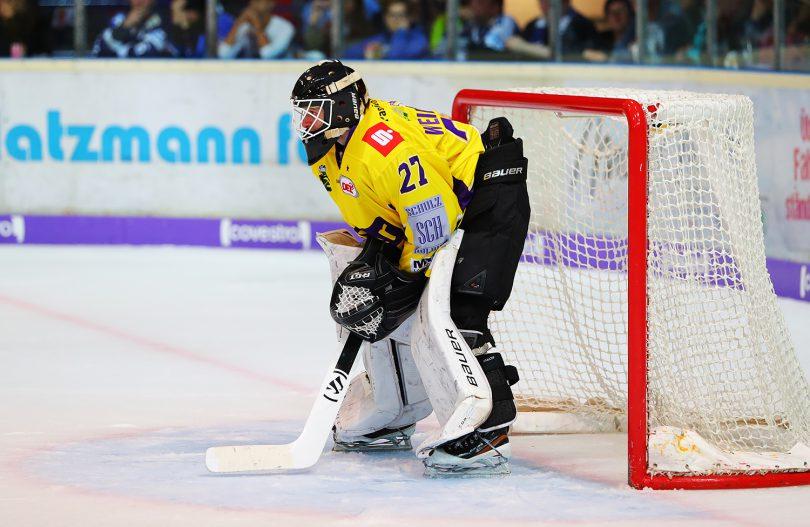 Michael Weidenkamp DEL: Iserlohn Rooster vs. Krefeld Pinguine Copyright: Jan Brueggemann, Eishockey Magazin