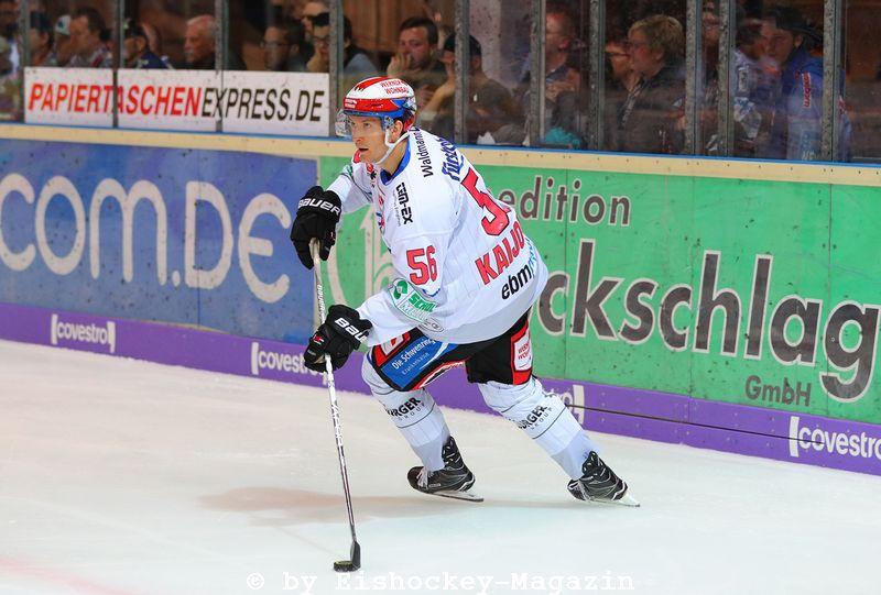 Kalle Kaijomaa DEL: Iserlohn Rooster vs. Schwenninger Wild Wings Copyright: Jan Brueggemann, Eishockey Magazin