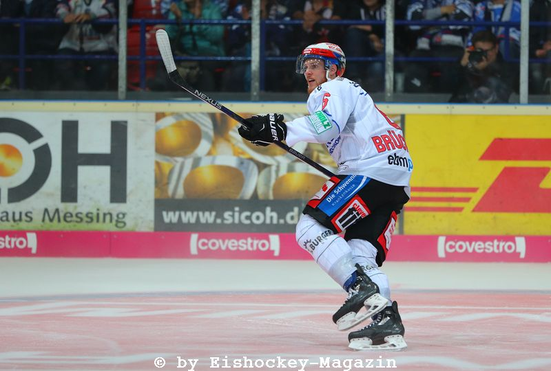 Benedikt Brückner DEL: Iserlohn Rooster vs. Schwenninger Wild Wings Copyright: Jan Brueggemann, Eishockey Magazin