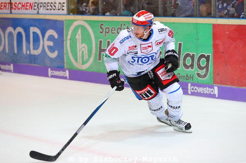 Istvan Bartalis DEL: Iserlohn Rooster vs. Schwenninger Wild Wings Copyright: Jan Brueggemann, Eishockey Magazin