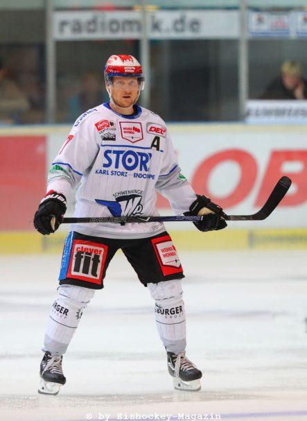Sascha Goc DEL: Iserlohn Rooster vs. Schwenninger Wild Wings Copyright: Jan Brueggemann, Eishockey Magazin
