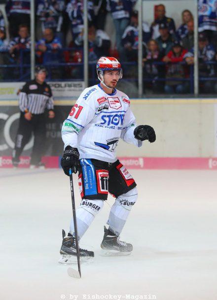 Mirko Höfflin DEL: Iserlohn Rooster vs. Schwenninger Wild Wings Copyright: Jan Brueggemann, Eishockey Magazin