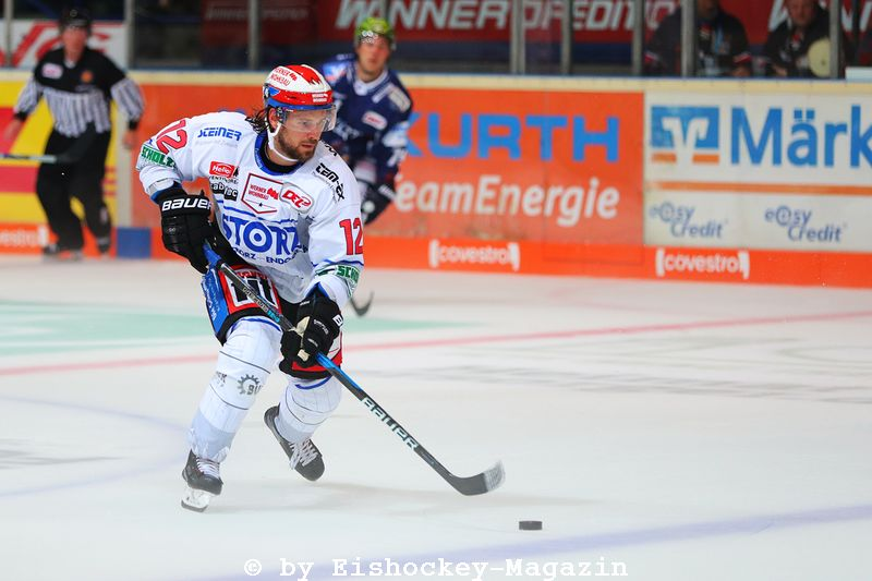 Andree Hult DEL: Iserlohn Rooster vs. Schwenninger Wild Wings Copyright: Jan Brueggemann, Eishockey Magazin