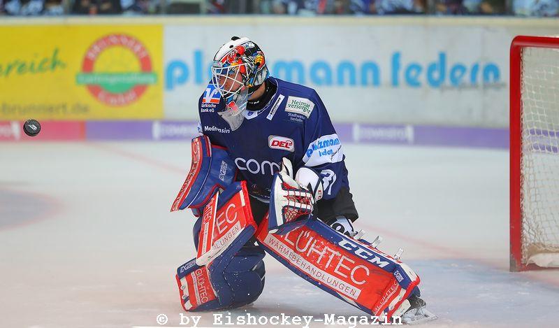 Sebastian Dahm DEL: Iserlohn Rooster vs. Schwenninger Wild Wings Copyright: Jan Brueggemann, Eishockey Magazin