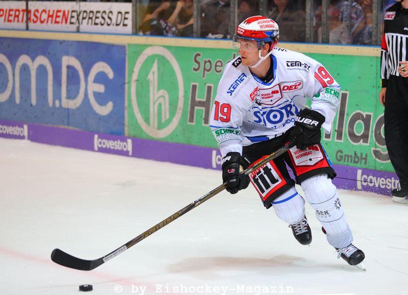 Mirko Sacher DEL: Iserlohn Rooster vs. Schwenninger Wild Wings Copyright: Jan Brueggemann, Eishockey Magazin