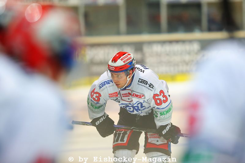 Markus Poukkula DEL: Iserlohn Rooster vs. Schwenninger Wild Wings Copyright: Jan Brueggemann, Eishockey Magazin