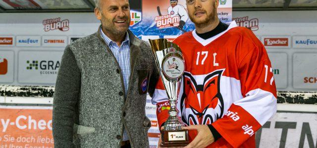 Der HCB Südtirol Alperia gewinnt den Rittner Cup – 3:1 Sieg im Finale gegen Visp