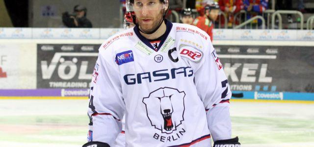Eisbären Berlin mit Kapitän André Rankel zum Heimspielauftakt