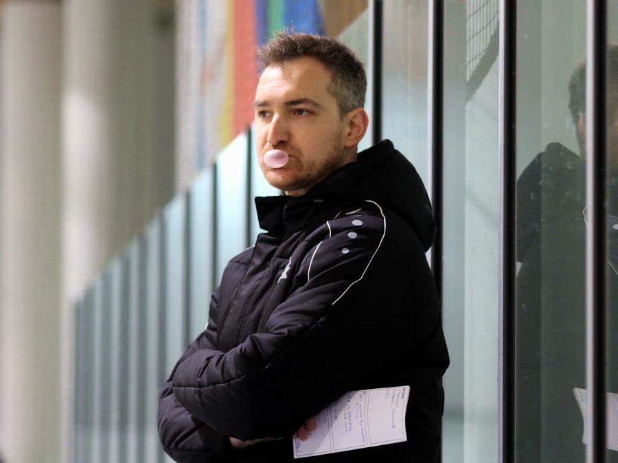 Augsburgs DNL-Coach Michael Bakos konnte zufrieden sein - © by EH-Mag. (DR)