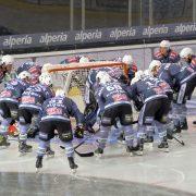 Alps Hockey League, 16. Spieltag: Pusterer Wölfe beißen gegen die Rittner Buam zweimal zu