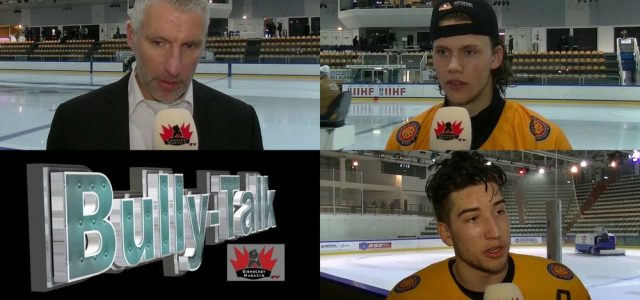 Bully-Talk, das Eishockey TV-Magazin #3: Unser Special rund um die DEB U20 Nationalmannschaft bei der WM in Frankreich