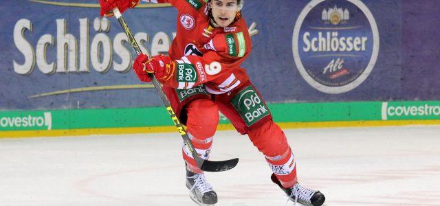 Falls der große NHL-Traum vorzeitig platzen sollte, kehrt Kammerer nach Düsseldorf zurück