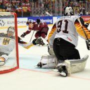 Trotz couragiertem Auftritt: Deutschland unterliegt Lettland 1:3