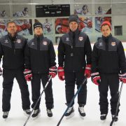 Salzburgs Head Coach Greg Poss mit neuem Trainerstab