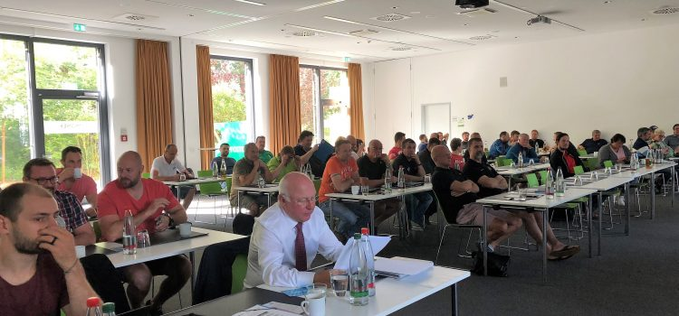 Trainersymposium in Frankfurt ein voller Erfolg