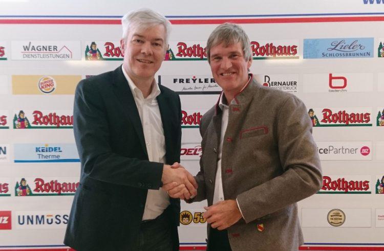 Staatsbrauerei Rothaus verlängert Sponsorenvertrag mit EHC Freiburg um drei Jahre