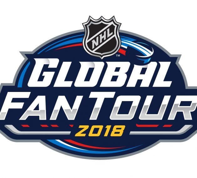 NHL erstmalig mit der Global Fan Tour 2018 in Europa unterwegs